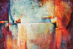Energized by Karen Hale Painting Print on Wrapped Canvas