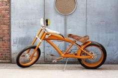 Motorcycle-shaped bicycle