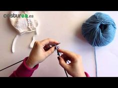 Punto piquillo de dos agujas - YouTube Knitting Stitches, Knitting Patterns, Crochet Patterns, Tartan, Youtube, Video, Knitting And Crocheting, Toddler Girls, Down Jackets