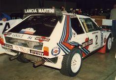 Lancia Delta S4 in Tacoma Olympus Rally 1986