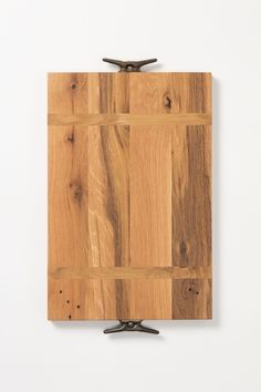 Serving board made of reclaimed wood from 19th century homes via Anthropologie.