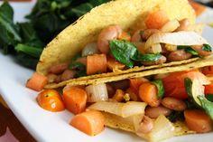 Veggie Tacos. :)