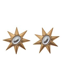 Vintage Yves Saint Laurent North Star Brooch