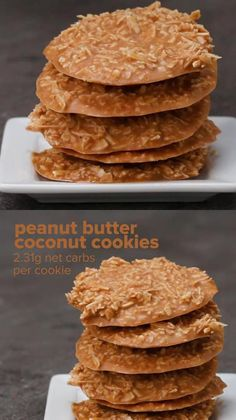 No Bake Coconut Cookies, Healthy Peanut Butter Cookies, Coconut Peanut Butter, Peanut Butter Recipes, Keto Cookies, Coconut Recipes Healthy, Keto Recipes, Keto Peanut Butter Cookies, Peanut Butter Chips