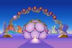 Tékhne Magazine: A Virtual Amusement Park About Molecules