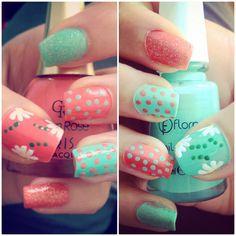 Nail Art ; Summer Nails