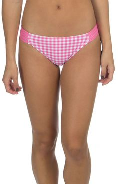 Gingham Hipster Bikini Bottom
