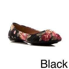 Complete your favorite ensemble with the Sienna-22 flats. With floral-patterned uppers looking quite festive, these feminine and graceful ballerina flats are so lightweight, you won't believe you're e