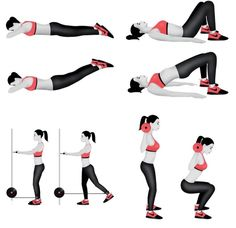 Best Workout For Tight & Toned Butt #Health #Fitness #Trusper #Tip