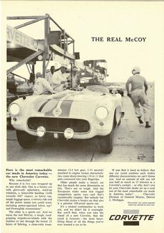 1956 Corvette - The Real McCoy