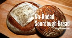 No-Knead Sourdough Bread Recipe / This sourdough bread is so easy to make. It is no-knead, people. No stand mixer or Bosch. No kneading or mixing whatsoever. Just put the flour and the starter in a bowl and let it sit there overnight (well, 18-19 hours to be exact). What could be easier?