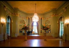 Filoli Mansion, Woodside, California where blake and crystal were married
