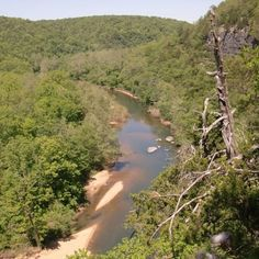 The view from Chalk Bluff, Shannon County, missouri