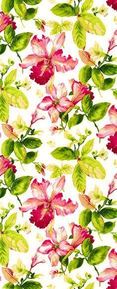 a estampa de flores mais linda