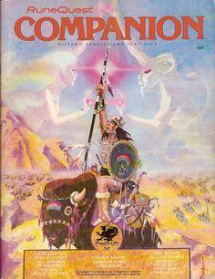 RuneQuest: Companion ~ Chaosium (1983)