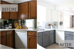 Fixer Upper Inspired Kitchen Redo Using Mostly Paint! . http://www.hometalk.com/13638297/fixer-upper-inspired-kitchen-redo-using-mostly-paint?se=fol_new-20160206-1&utm_medium=email&utm_source=fol_new&date=20160206&slg=712ef8efcc9142fe2402f196bf77df85-1110481