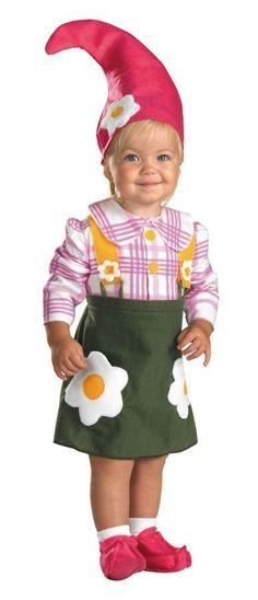 cheaper than toys r us Baby Flower Garden Gnome Costume -Baby Girl Costumes -Infant, Baby Costumes -Baby, Toddler Costumes -Halloween Costumes - Party City Garden Gnome Halloween Costume, Gnome Costume, Toddler Halloween Costumes, Cute Costumes, Halloween Kids, Costume Ideas, Toddler Girl Costumes, Infant Costumes, Dwarf Costume