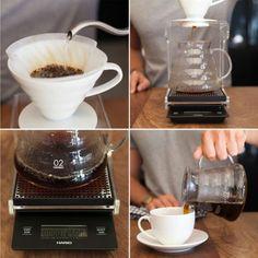 Hario V60 Range Ceramic Coffee Dripper 2 4 Cup - Yuppiechef