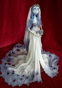 Corpse Bride Worm, Emily Corpse Bride, Corpse Bride Costume, Tim Burton Corpse Bride, Halloween Inspo, Halloween Doll, Halloween Costumes, Tim Burton Characters, Tim Burton Films