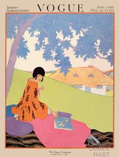 Helen Dryden. Vogue 1917
