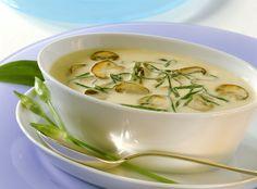 Champignon-Bärlauchsauce | Zeit: 20 Min. | http://eatsmarter.de/rezepte/champignon-baerlauchsauce