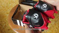 Sepatu Bola Adidas Predator Powerswerve TRX FG Black Red 019991 Original