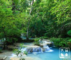 As cachoeiras de Erawan, na Tailândia, possuem uma beleza rara e ainda tem um atrativo curioso: os peixes desta região são conhecidos por comer as camadas de pele morta, funcionando como um verdadeiro Spa Natural.   E aí, que tal uma viagem de férias para explorar a Tailândia? Visite a Clube Turismo mais perto de você e programe-se!  http://clubeturismo.com.br/site/