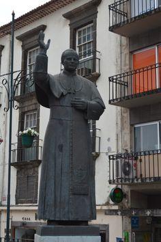 Statue Jean-Paul II Funchal