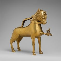 Aquamanile in the shape of a Horse  Date: first half 15th century Geography: Made in, Nuremberg Culture: German Medium: Copper alloy