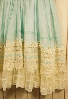 This lace... I gasped when I saw it....