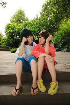 Haku & Sen | Sen to Chihiro no Kamikakushi #cosplay #anime #movie