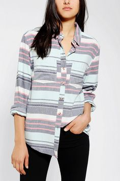 BDG Frankie Boyfriend Flannel Shirt @ Urban Outfitters (looks like the Salt water flannel from #JCrew)