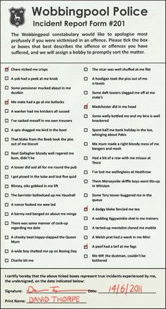 Incident Report Form   Lol    Funny Pics And Humor