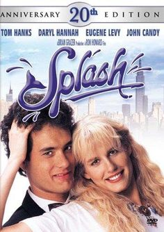 **DVD SPLASH** Tom Hanks stars as Allen Bauer, a workaholic who's convinced he can't fall in love. That is, until he's mysteriously rescued at sea by the mermaid of his dreams! Also starring John Candy and Eugene Levy. (DVD case)