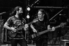 John Petrucci and John Myung