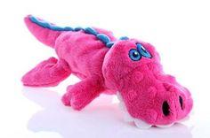 GoDog Gators Pink Dog Toy