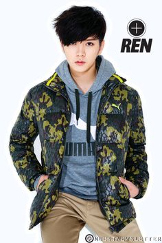 Ren - NU'EST OMG!!!! LOVE THIS HAIR CUT!!!!!!!!!!!!!!!!!!