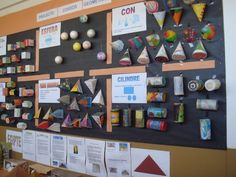 This would be fun when doing nets (image only) Geometry Activities, Geometry Worksheets, Math Activities, High School Activities, Indoor Activities For Toddlers, Math Art, Fun Math, Mega Math, Childrens Wall Murals