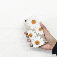"Copy of Clear Plastic Case Cover for iPhone 6 (4.7"") It's Daisies"