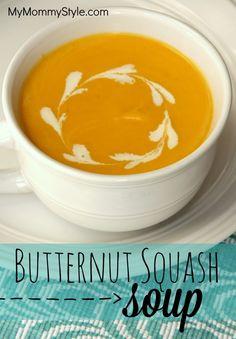 Butternut Squash Soup | My Mommy Style