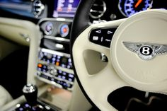 Interior of a Bentley