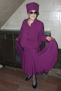 Elder Style: 10 street fashions from women over 60 | Vitality - Yahoo! Shine