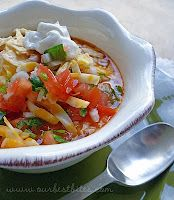 Taco Soup - 1.5 cups has 15 g. protein and is 4 pts. on Weight Watchers. I have made this several times and it is scrumptious, nourishing and very filling.