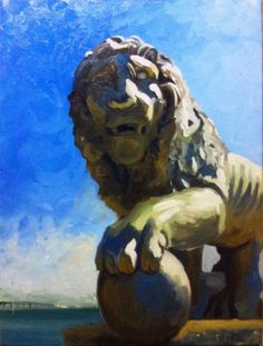 Peter O'Neill Gallery - From the Soul/The Lion of the Bridge of Lions
