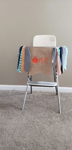 Navy, teal and orange pumpkin themed first birthday highchair banner. Available in two sizes, handmade by Madsy Bella Boutique on Etsy. Fall First Birthday, First Birthday Banners, Pumpkin Themed Birthday, Teal Pumpkin, Birthday Highchair, Fabric Tutu, Wall Banner, High Chair Banner