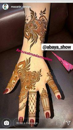 Henna art Modern Henna Designs, Arabic Henna Designs, Mehndi Designs Feet, Latest Bridal Mehndi Designs, Full Hand Mehndi Designs, Mehndi Designs Book, Mehndi Designs For Girls, Mehndi Designs For Beginners, Dulhan Mehndi Designs