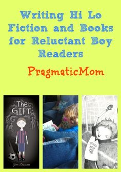 Books for Reluctant Boy Readers: Hi Lo Fiction suggestions from author Jim Wescott :: PragmaticMom