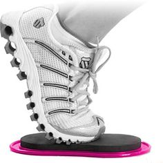 Pink #Valslides are a perfect gift for both the experienced fit chick and the fitness newbie in your life. The Valslide® makes exercise seem easier, while making your muscles work harder. The sliding motion transforms traditional lunges, leg curls, and mountain climbers by allowing fluid, stress free movement.