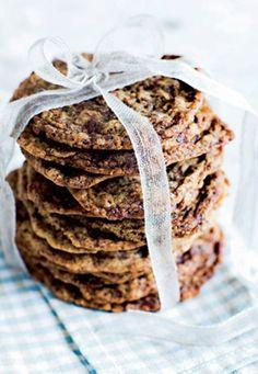 Cookies med chokolade | Opskrift | ISABELLAS