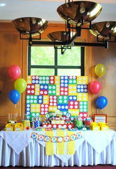 Karo's Fun Land: Legos First Birthday Party